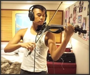 Awesome violin on The Awesomer