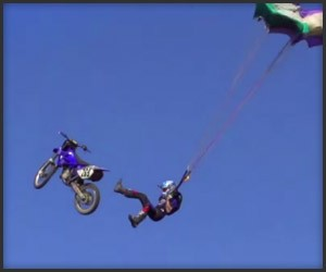 Dirt Bike BASE Jump