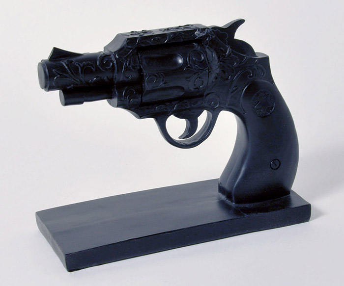 Duello Gun Bookend