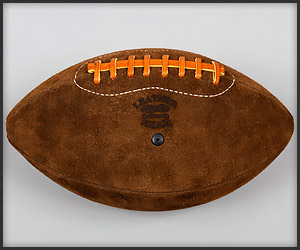 Leather Head Suede Football