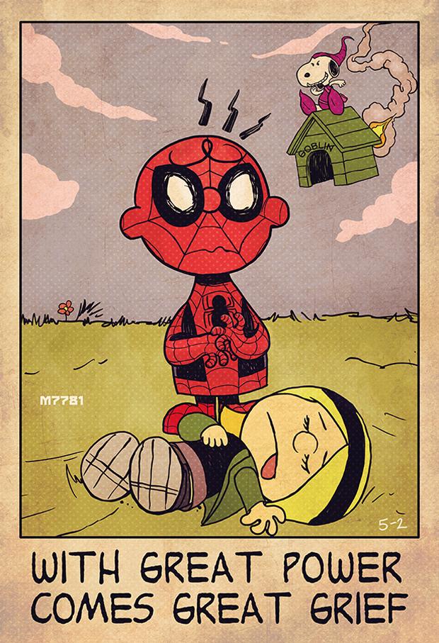Marco D'Alfonso Comics Mashups