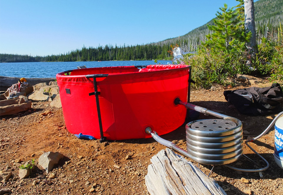 Nomad Portable Hot Tub
