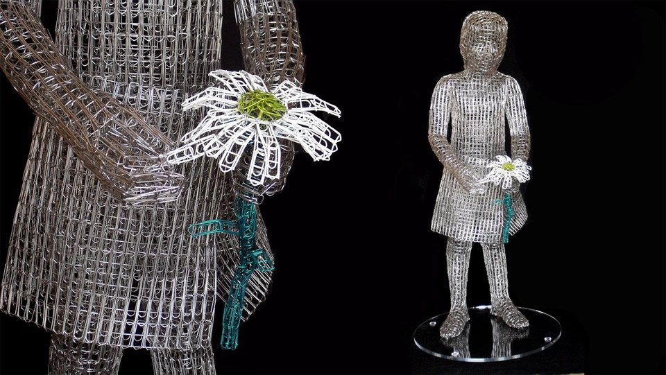 Paperclip Sculptures