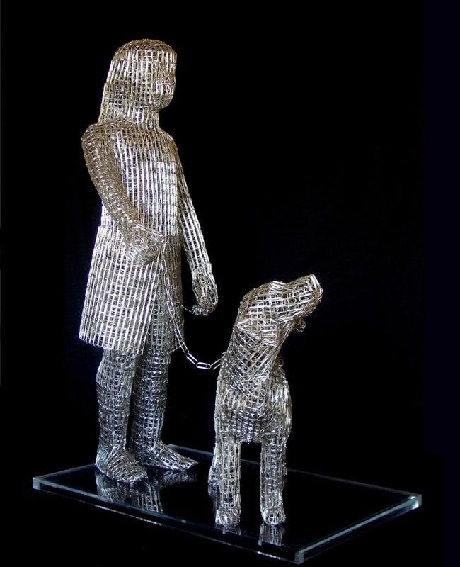 Paperclip Sculptures