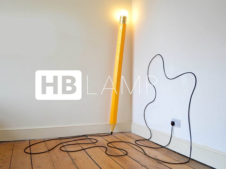 Pencil Lamp - The Awesomer