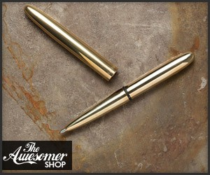 Raw Brass Space Pen