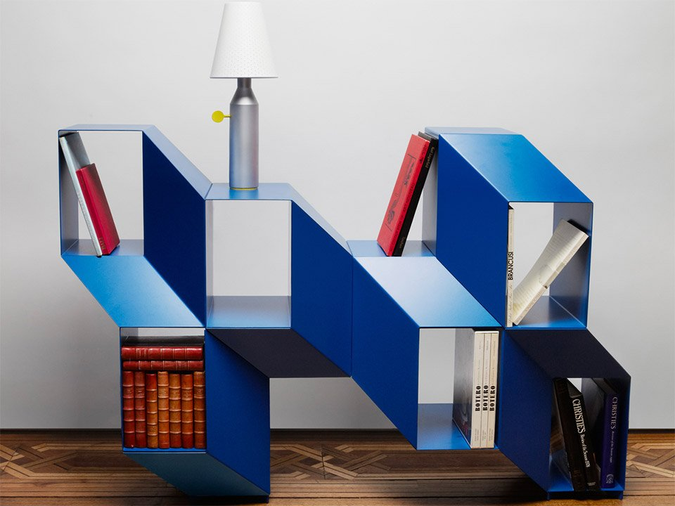 Rocky Bookshelf