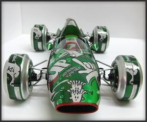 Intricate Can Cars