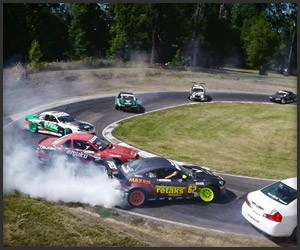 12-Car Drift Mob