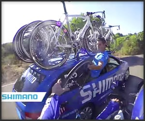 Bicycle Race Mechanic POV
