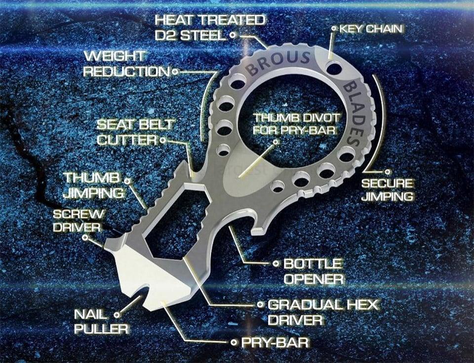Brous Blades Multi-tool
