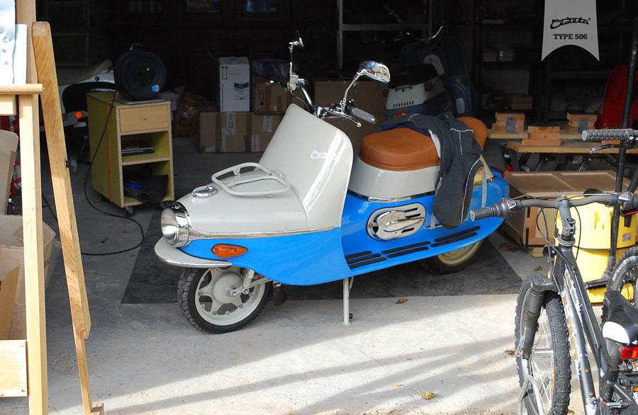 Čezeta Type 506 Electric Scooter