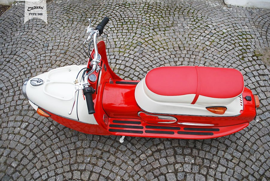 Čezeta Type 506 Electric Scooter