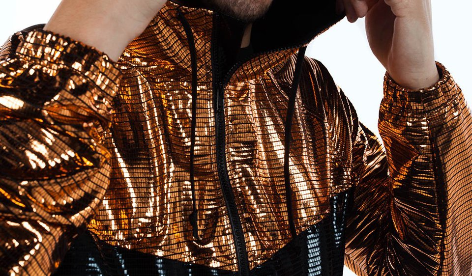 Disco 2-tone Track Jacket