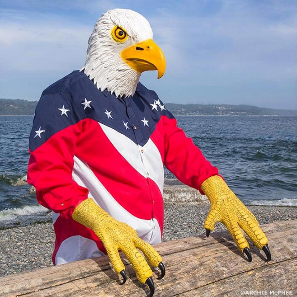 Eagle Mask and Talons