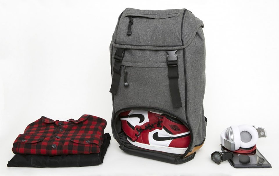 Flud Mayor Sneaker Tech Backpack