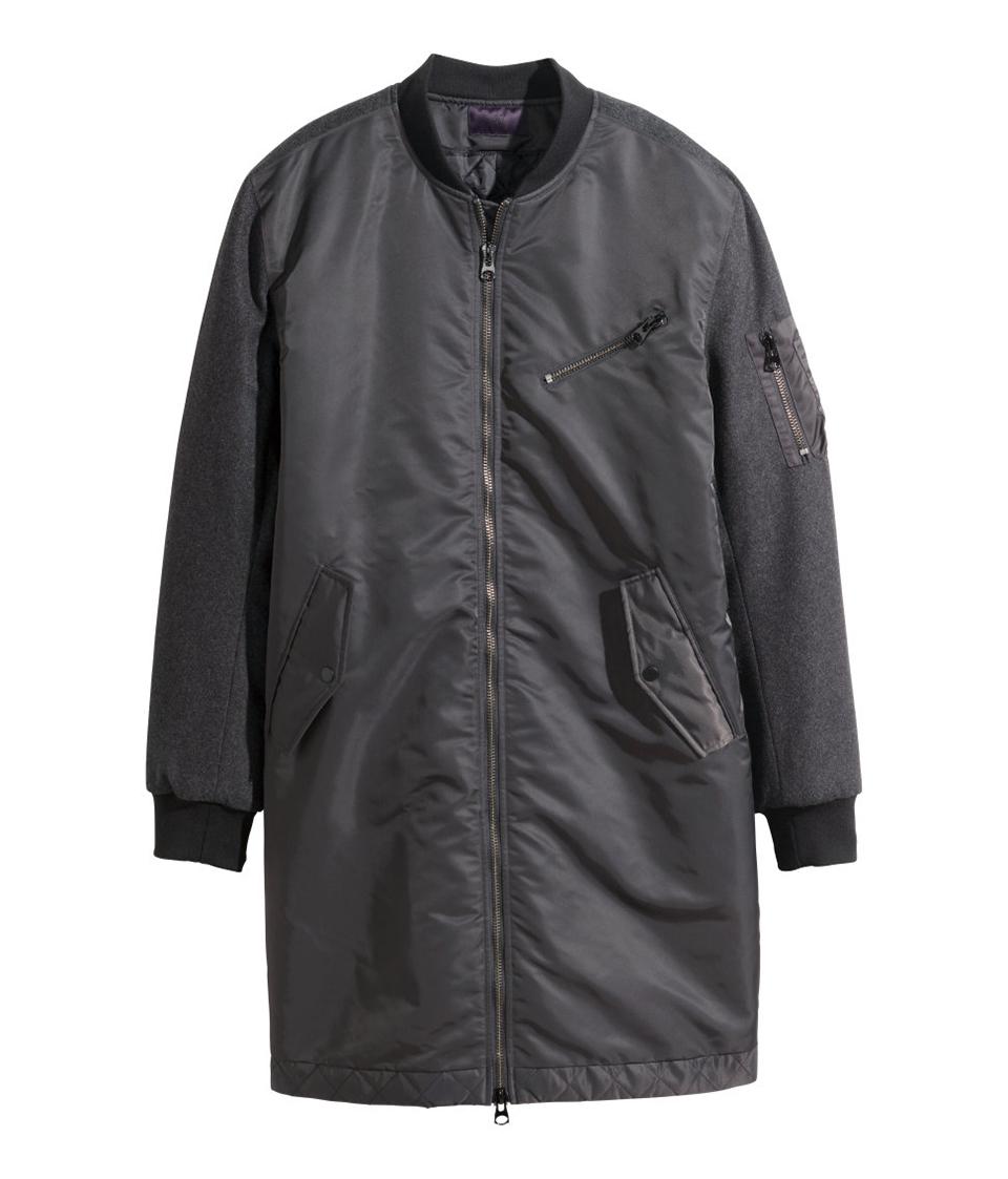 H&m Long Pilot Jacket