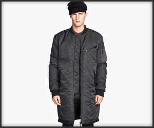 H&M Long Pilot Jacket