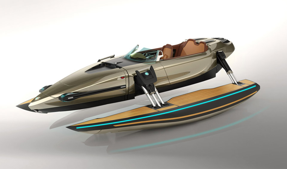 Kormaran Boat Concept - The Awesomer