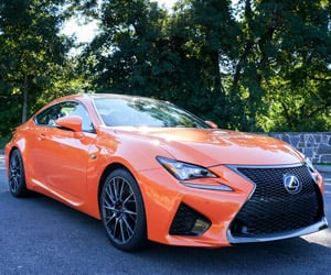 Lexus RC / RC F: Driven