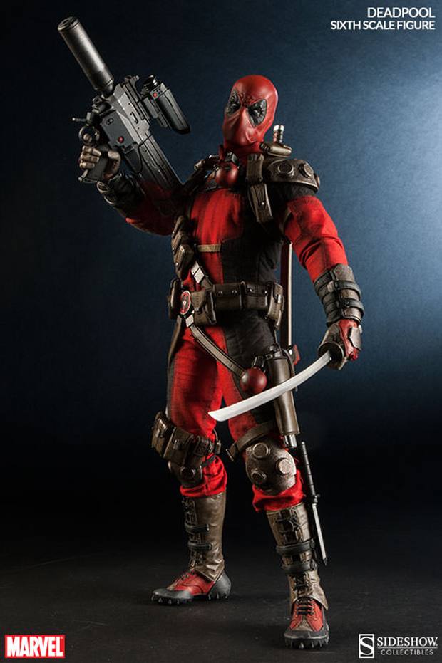 Marvel Sixth Scale Deadpool