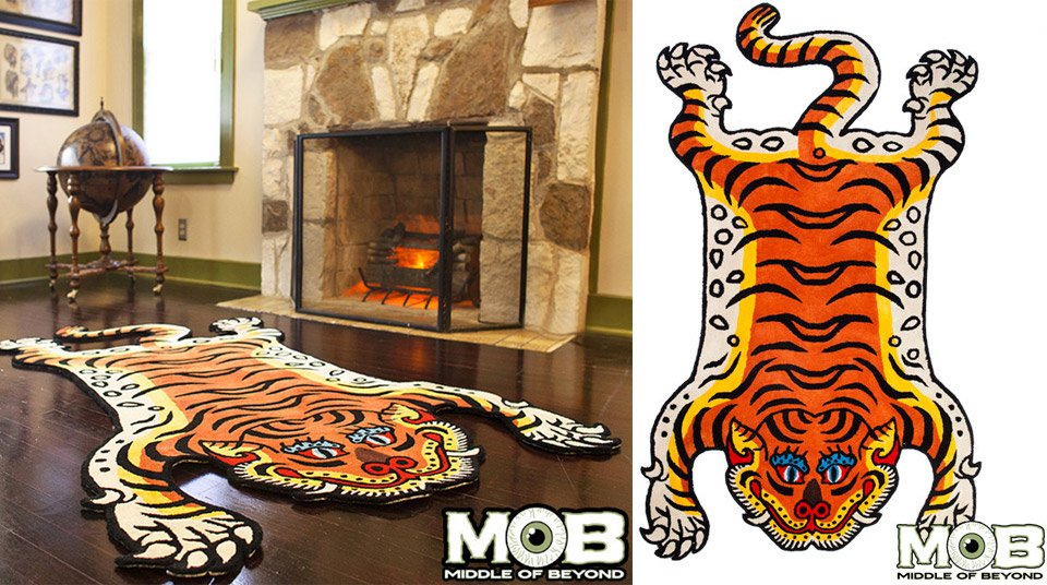 MOB Tibetan Tiger Rug