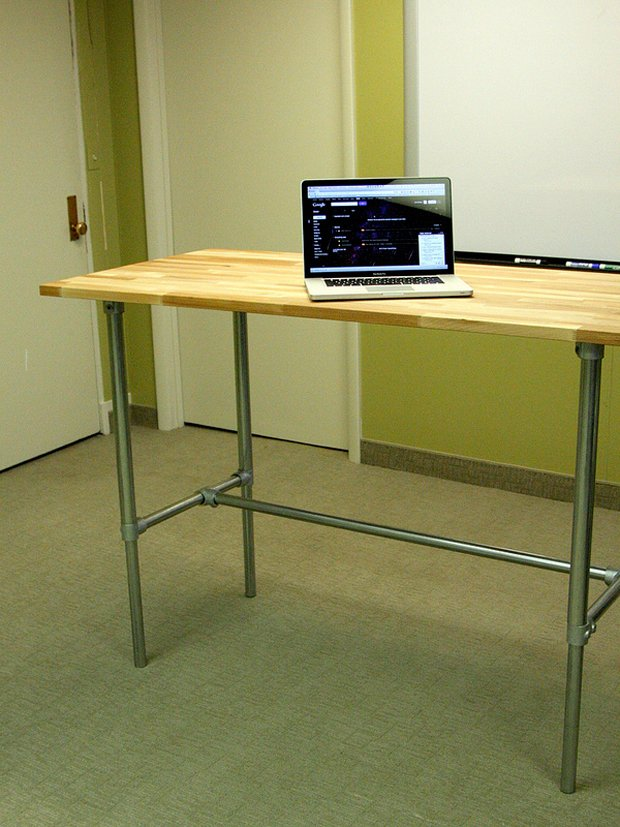 Pipe Desk Frames