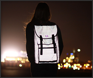 Rickshaw Reflective Backpacks