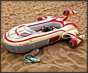 Landspeeder Inflatable Pool Float