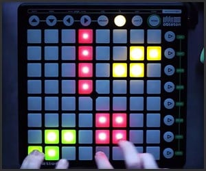 Tetris Launchpad Cover