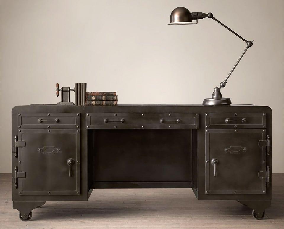 Iron Vault Desk