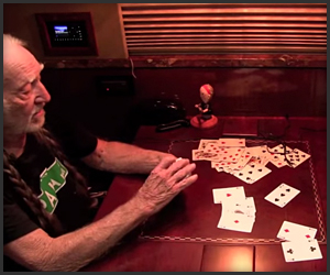 Willie Nelson's Story Card Trick
