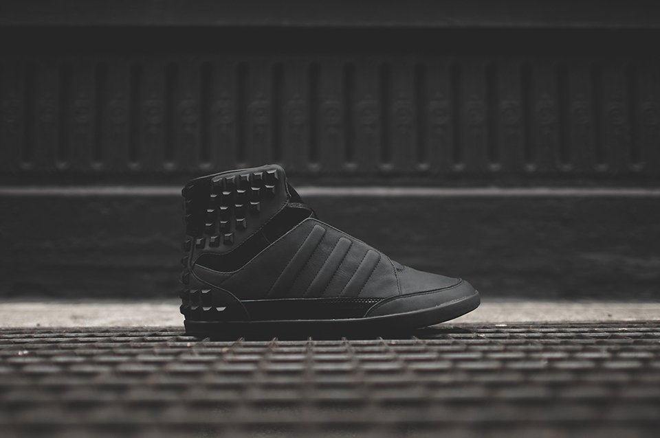 Y-3 Honja Triple Black Stud Pack