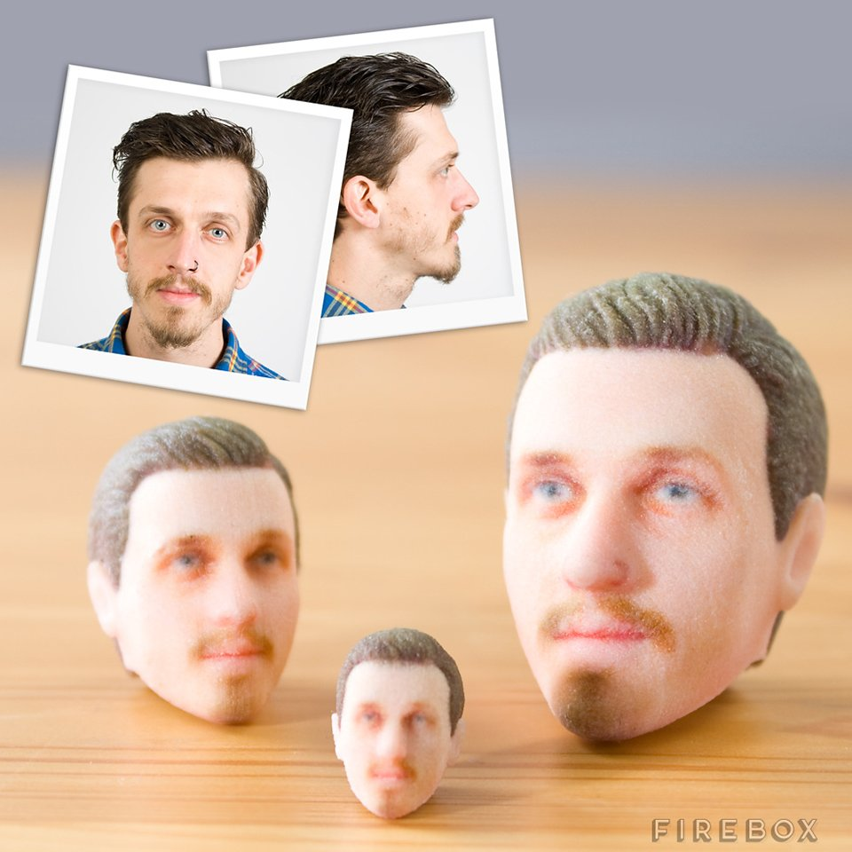 3D-Printed Custom Head