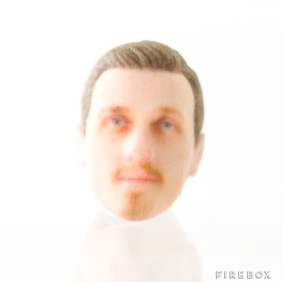 3D-Printed Custom Head