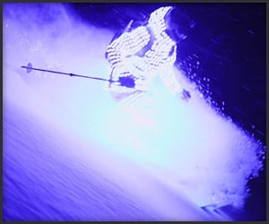 Afterglow: Lightsuit Skiing