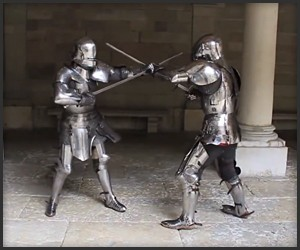Armored Combat in the 15th C.
