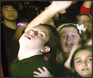 Awesome Audience Kid