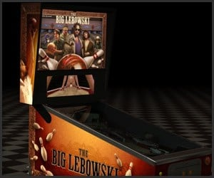 The Big Lebowski Pinball Machine