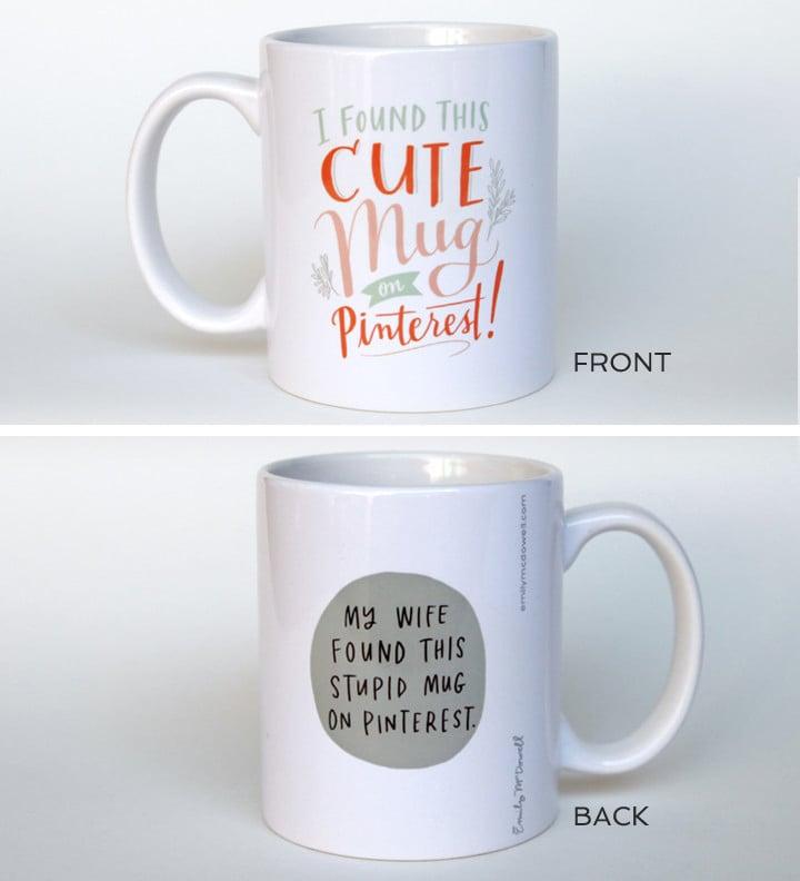 Emily McDowell's Mugs