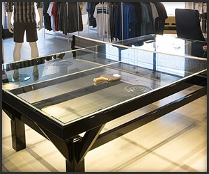 Glass Ping Pong Table