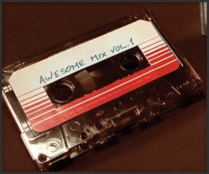 GotG Awesome Mix Vol. 1 Tape