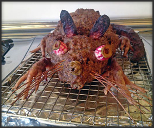 Halloween Meatloaf of Rat