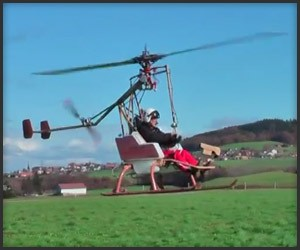 Hydrogen Peroxide Helicopter