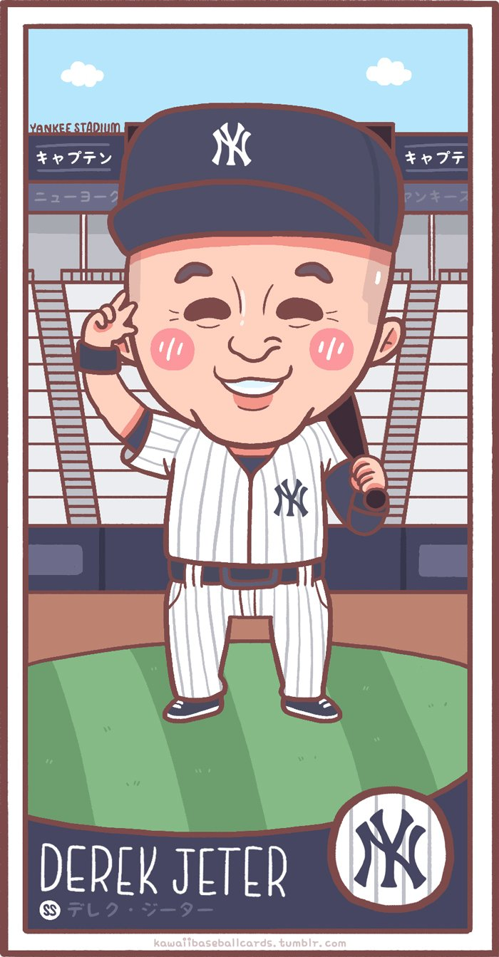 Kawaii Baseball Cards