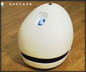 Keecker Projector & Webcam