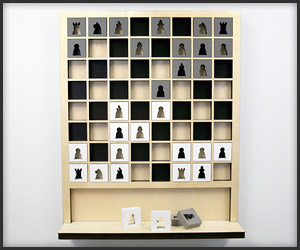 Mate Wall Chess Set