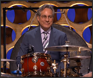 Max Weinberg Drops by Conan