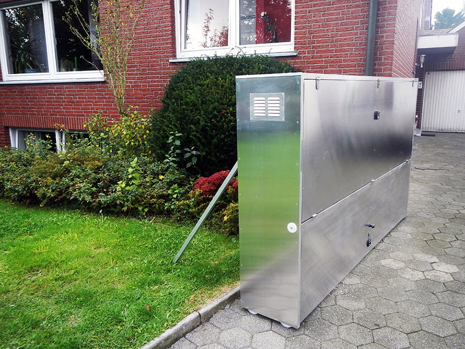 Retractable Motorcycle Shed