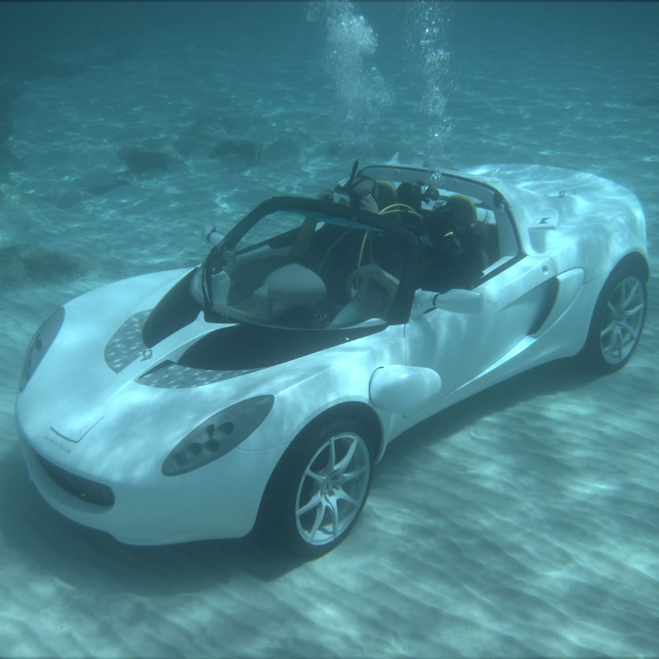 Rinspeed sQuba Submarine Car